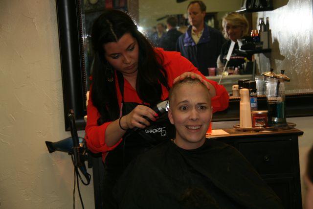 Shave Party: Jenny