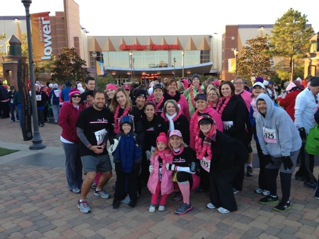 2012 Komen Race - Very soon after diagnosis.