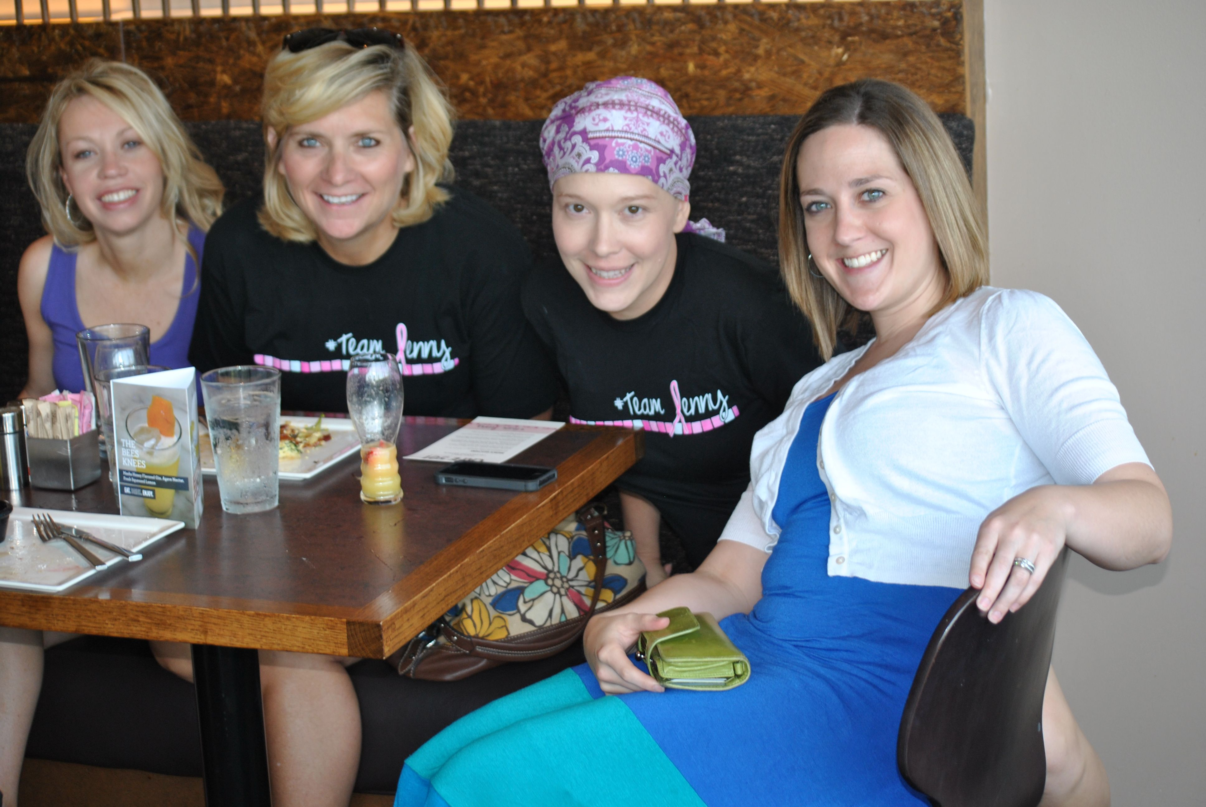 In celebration of my last chemo, all of my friends gathered for a chemo party! (special thanks to Krisan)